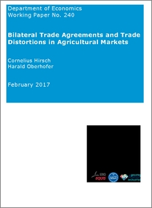 Bilateral trade agreements and trade distortions in agricultural official platinumwayz