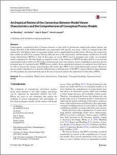 An Empirical Review of the Connection Between Model Viewer